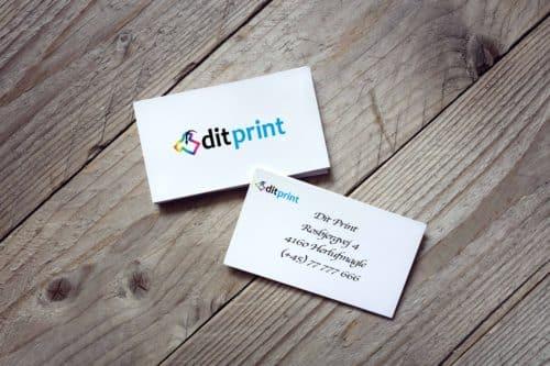visitkort ditprint