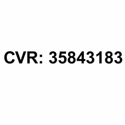 cvr nummer til firmabil